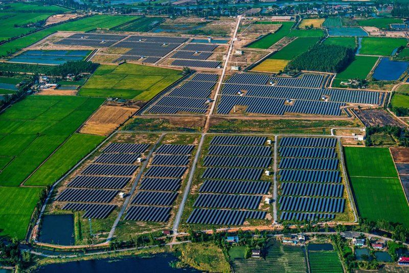 O que é uma usina solar