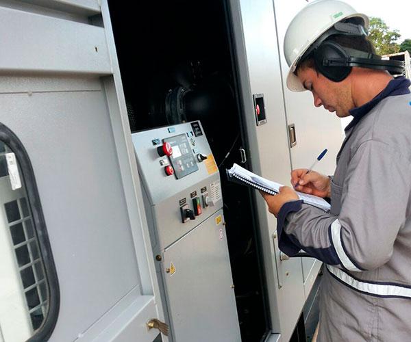 Tipos de manutenção para grupos geradores de energia elétrica