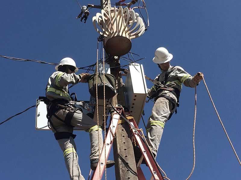 Prestação de serviços elétricos