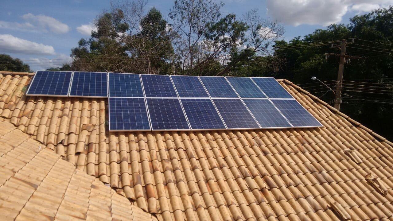 Sistema de energia solar On-Grid 3,50 kWp