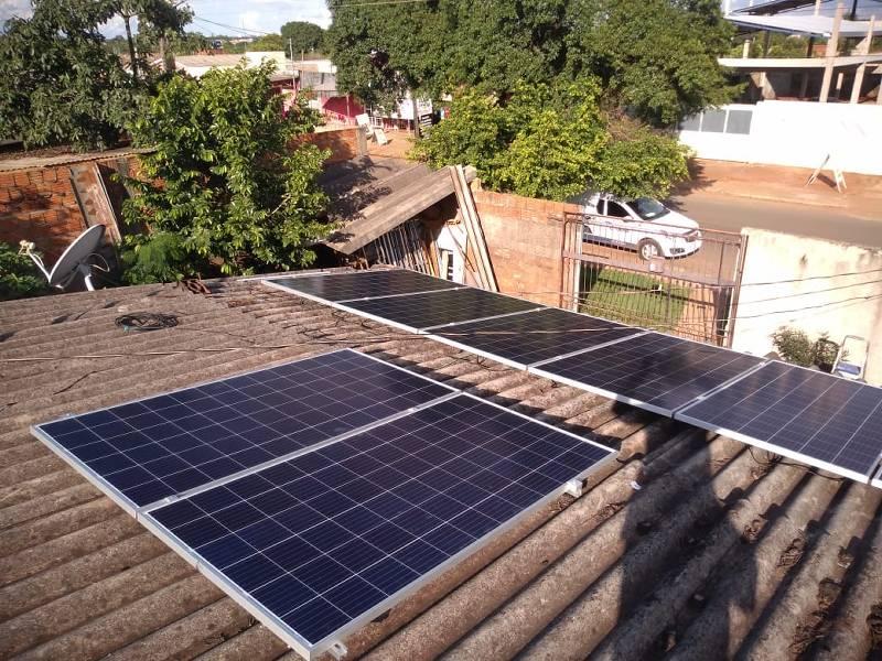 Sistema On-Grid 2,64 kWp