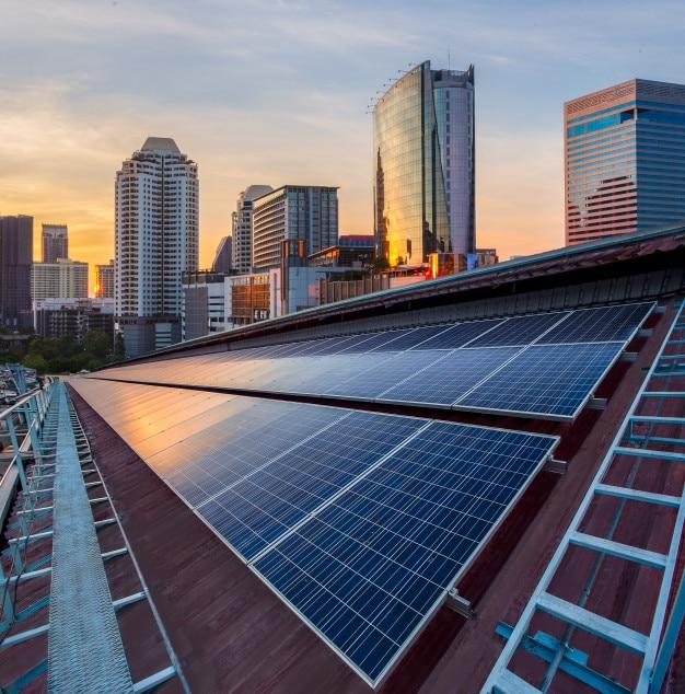 O Brasil é o país com maior taxa de irradiação solardo mundo.