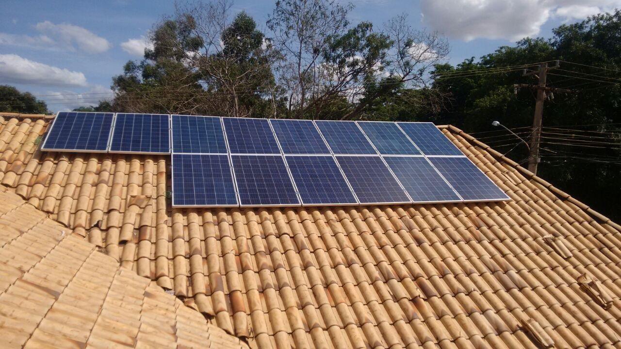 Painel Solar da Cogera Energia