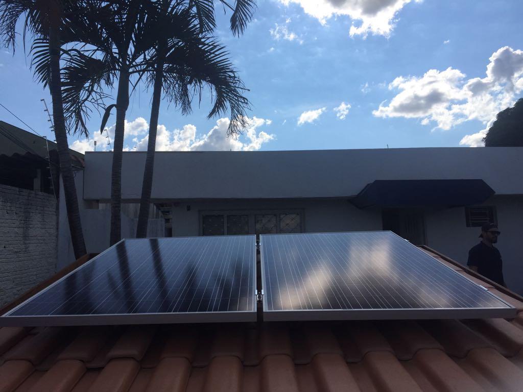 Modelos de placas solares adequados