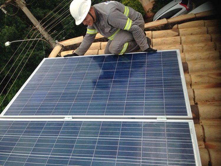 Energia fotovoltaica pelo mundo. Reprodução: Instalação de energia solar Campo Grande, MT. Fonte: Cogera Energia