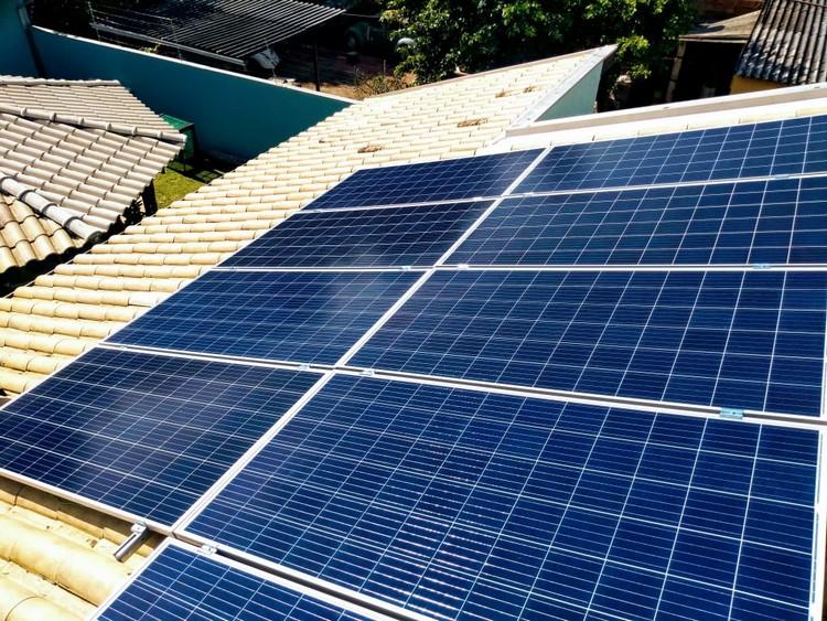 Projeto de energia solar da Cogera
