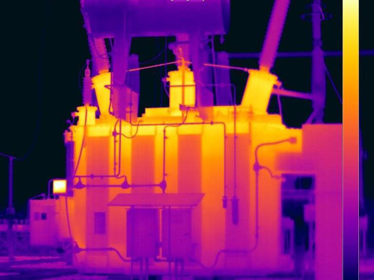 Análise Termográfica Cogera Energia